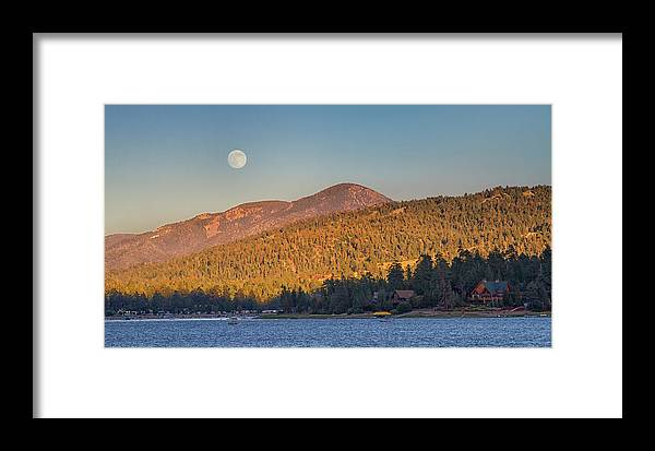 Big Bear Lake Framed Print featuring the photograph Usa, California, Big Bear by Christopher Reed
