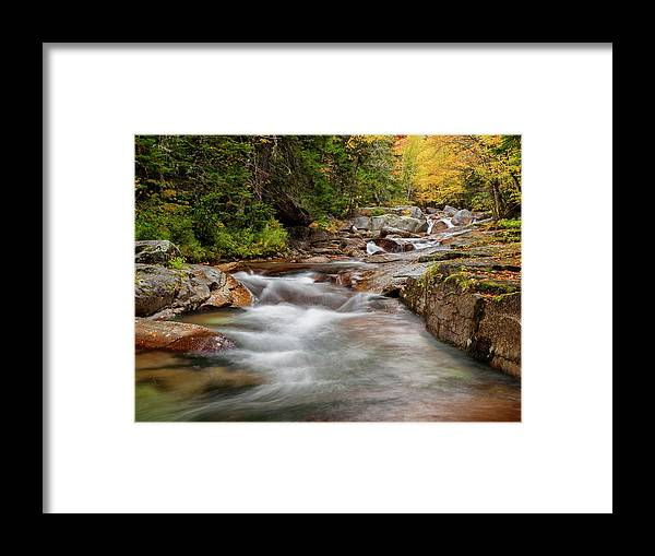 Ann Collins Framed Print featuring the photograph Usa, New Hampshire, White Mountains by Ann Collins