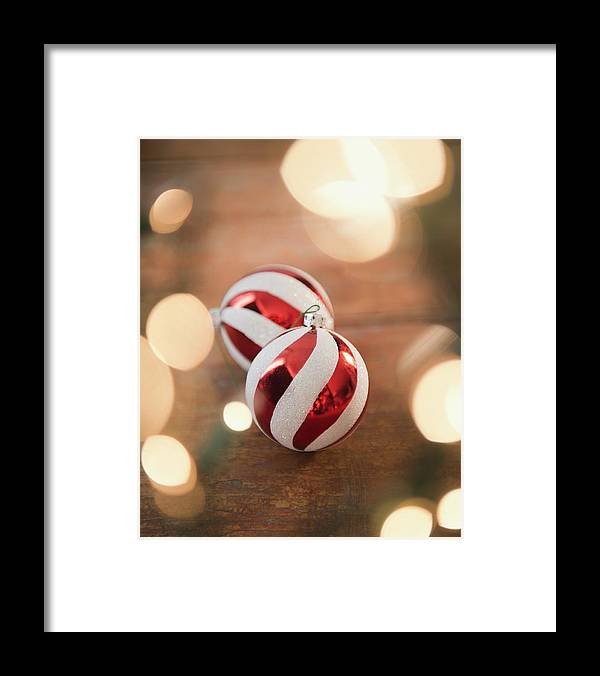 Christmas Ornament Framed Print featuring the photograph Usa, New Jersey, Jersey City, Christmas by Jamie Grill