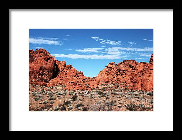 Valley Pass Framed Print featuring the photograph Valley Pass by John Rizzuto