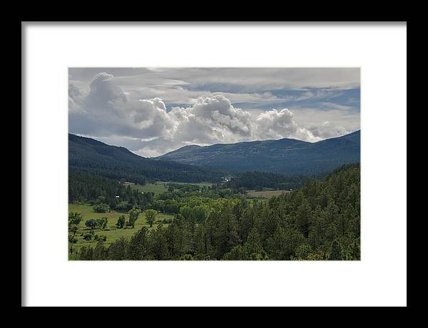 Colorado Framed Print featuring the photograph Valley View by Ryan Heffron