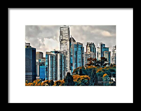 Vancouver Framed Print featuring the photograph Van. 0141 by Charles Cunningham