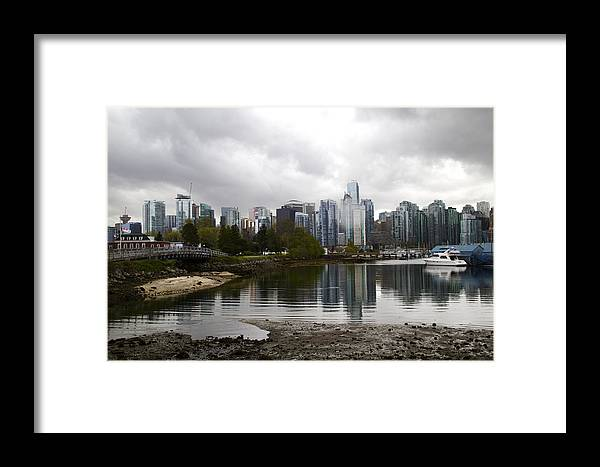 Vancouver Framed Print featuring the photograph Vancouver by Andi Murphy