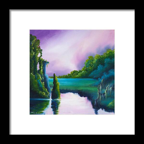 Sunrise Framed Print featuring the painting Vasperaso by James Christopher Hill
