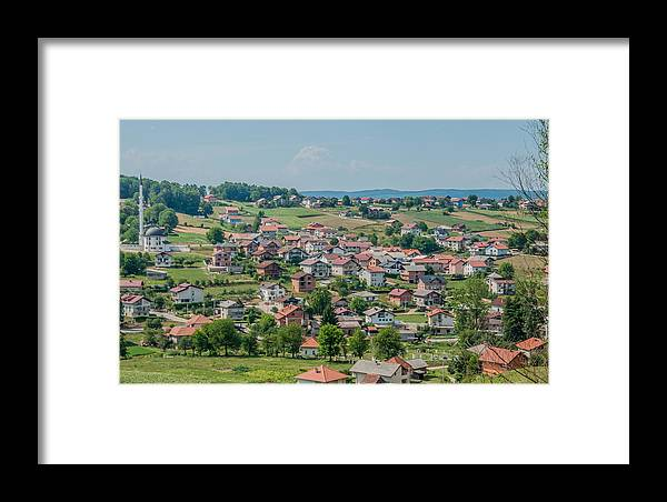 Velika Kladusa Framed Print featuring the photograph Velika Kladusa Bosnia by Amel Dizdarevic