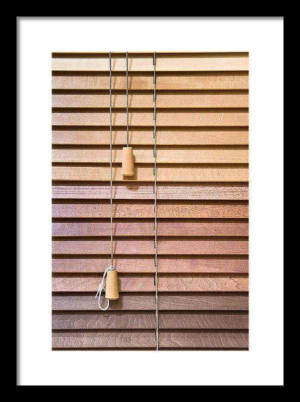 Luxury Framed Venetian Blinds Ensign - Framed Art Ideas ...