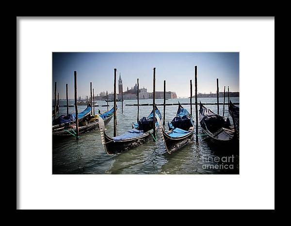 Architecture Framed Print featuring the photograph Venice by Ulisse