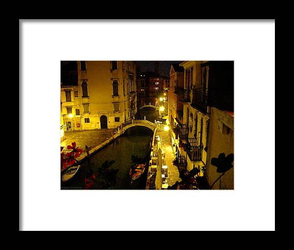 Italy Framed Print featuring the photograph Venitian Glow Due by Mark Janeck