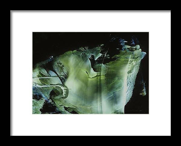 Encaustic Framed Print featuring the painting Venus Subaqua by Cristina Handrabur