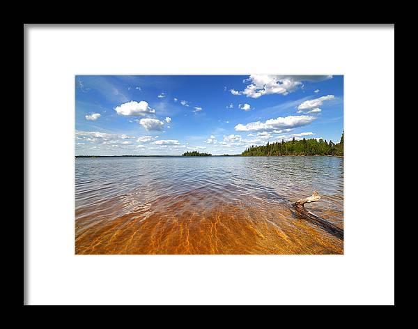 Beach Framed Print featuring the photograph Vermillion Beach by Sarah Rodefeld