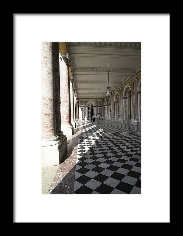 Versailles Framed Print featuring the photograph Versailles Grand Trianon by Andi Murphy