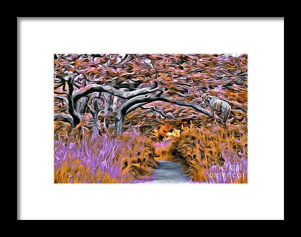 Trees Framed Print featuring the photograph V.i. 0139 by Charles Cunningham