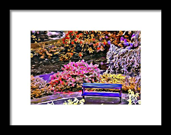 Flowers Framed Print featuring the photograph V.i. 0140 by Charles Cunningham