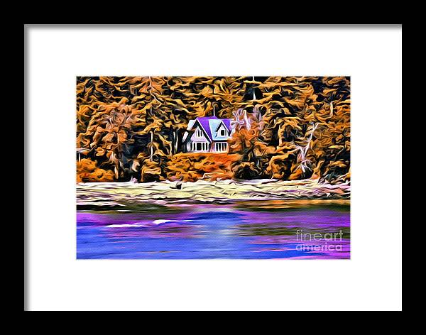 House Framed Print featuring the photograph V.i. 0156 by Charles Cunningham