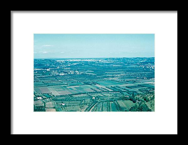 Vicenza Framed Print featuring the photograph Vicenza Italy 1962 by Cumberland Warden