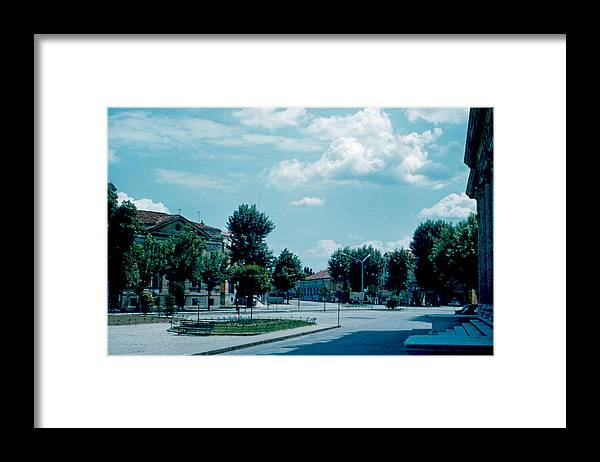 Vicenza Framed Print featuring the photograph Vicenza Italy 3 1962 by Cumberland Warden