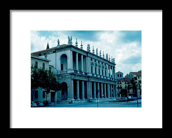 Vicenza Framed Print featuring the photograph Vicenza Italy 4 1962 by Cumberland Warden