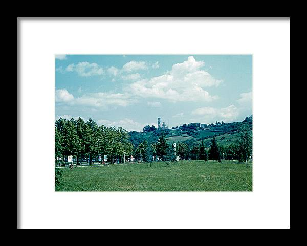 Vicenza Framed Print featuring the photograph Vicenza Italy 6 1962 by Cumberland Warden