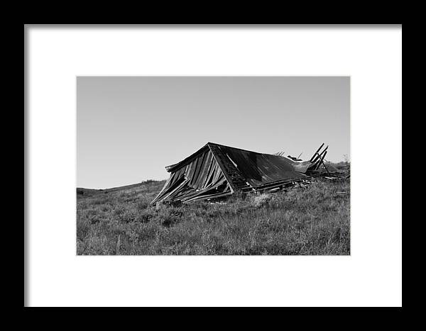 Wood Framed Print featuring the photograph Victim Of Time by Nathan Hillis