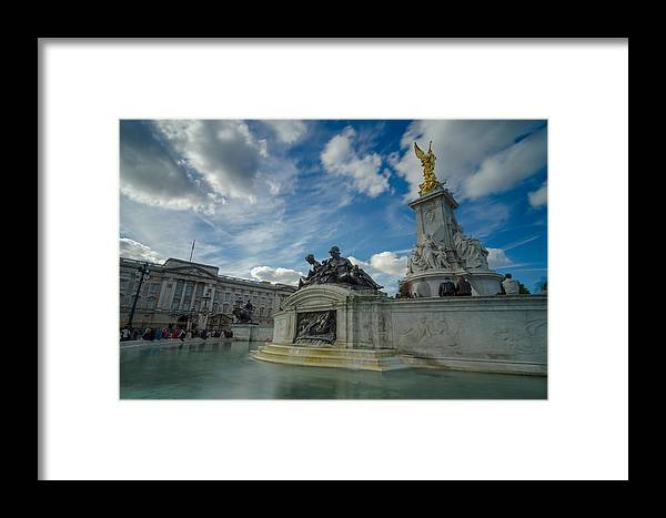 Victoria Memorial Framed Print featuring the photograph Victoria Memorial by Jonah Anderson