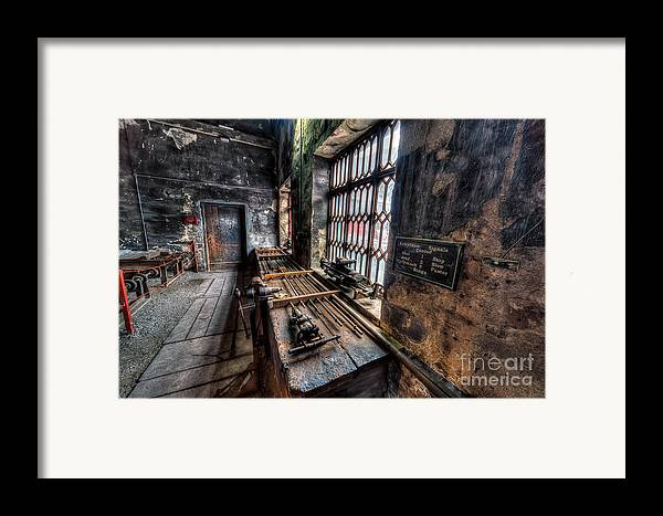 Architecture Framed Print featuring the photograph Victorian Workshops by Adrian Evans