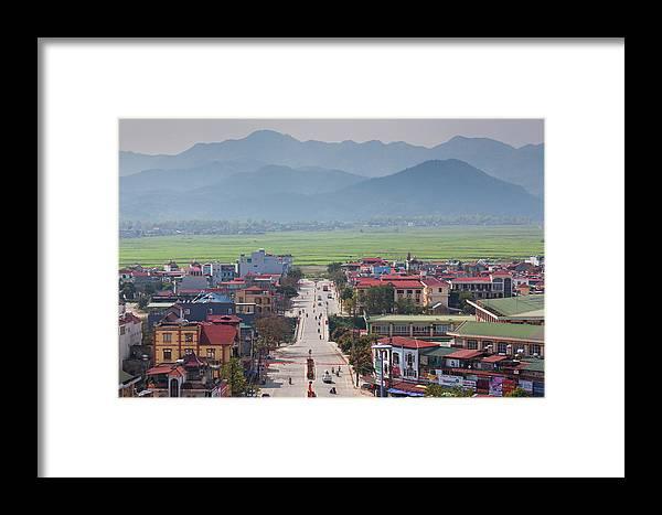 Asia Framed Print featuring the photograph Vietnam, Dien Bien Phu by Walter Bibikow