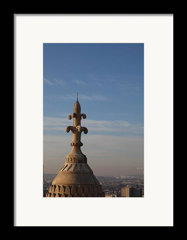 And Framed Print featuring the photograph View From Basilica Of The Sacred Heart Of Paris - Sacre Coeur - Paris France - 011323 by DC Photographer