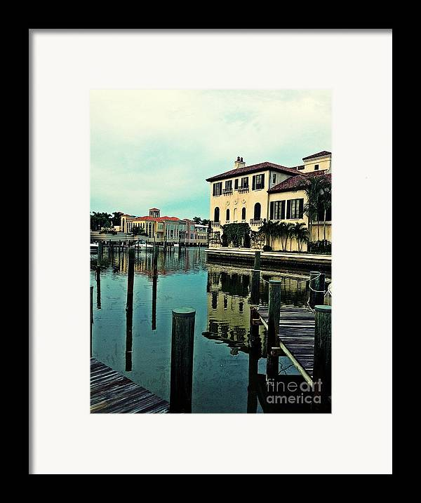 Southwest Florida Framed Print featuring the photograph View From The Boardwalk 3 by K Simmons Luna