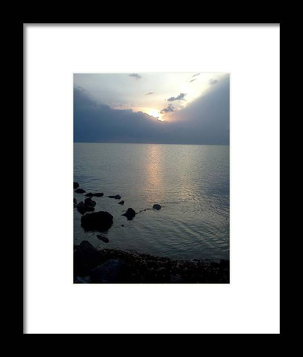 Jetty Framed Print featuring the photograph View From The Jetty 2 by K Simmons Luna