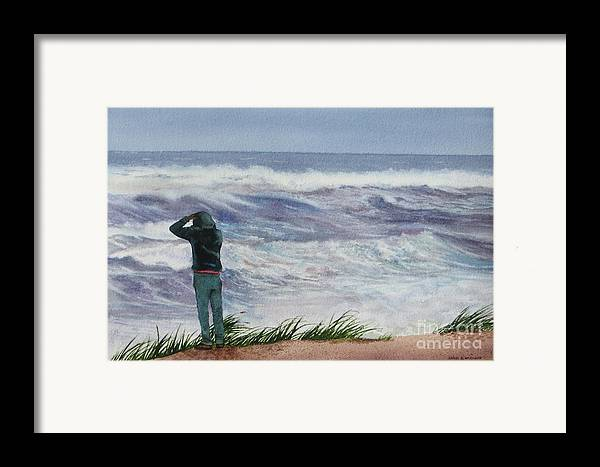 Sea Framed Print featuring the painting Viewing Nemo by Karol Wyckoff
