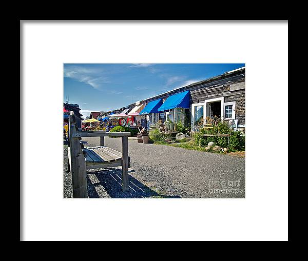 Lbi Framed Print featuring the photograph Viking Village by Mark Miller
