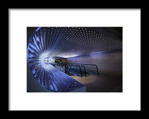 Multiuniverse Framed Print featuring the photograph Villareal's Blue Multiuniverse by Cora Wandel