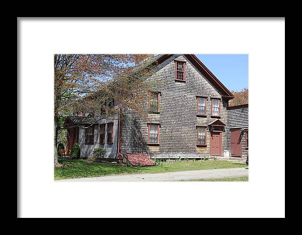 Homes Framed Print featuring the photograph vintage Home by Horst Duesterwald
