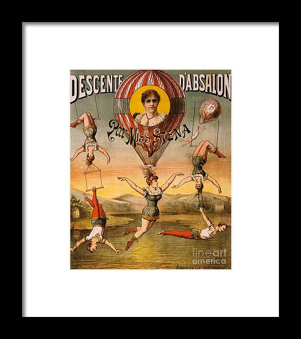 Entertainment Framed Print featuring the photograph Vintage Nostalgic Poster - 8029 by Wingsdomain Art and Photography