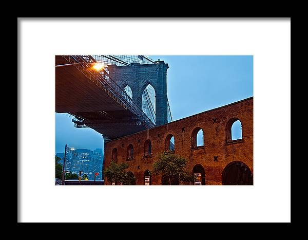 Vintage Road Framed Print featuring the photograph Vintage Road by Michael Murphy