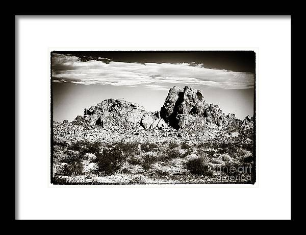 Vintage Valley Framed Print featuring the photograph Vintage Valley by John Rizzuto
