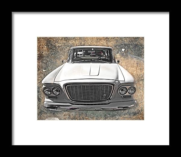 Vintage Framed Print featuring the photograph Vintage Vehicle by Judy Hall-Folde