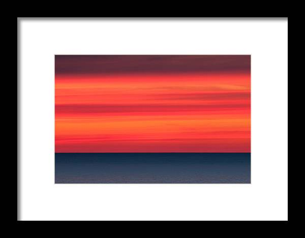 Sea Framed Print featuring the photograph Vision by PNDT Photo