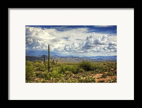 Arizona Framed Print featuring the photograph Visions Of Arizona by Saija Lehtonen