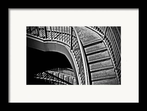 Abstracts Framed Print featuring the photograph Visions Of Escher by Steven Milner