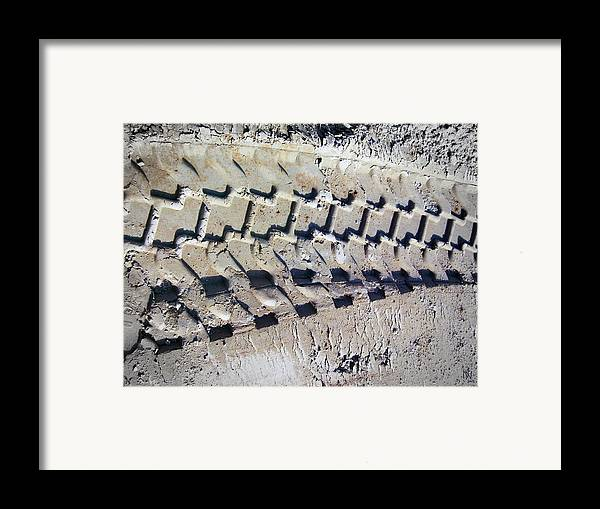 Tires Framed Print featuring the photograph Vroooomm by Nafets Nuarb
