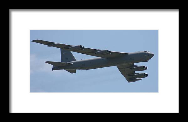 Air Framed Print featuring the photograph Wafb 09 B52 Stratofortress by David Dunham