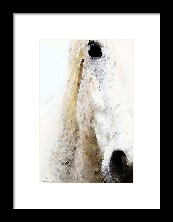 Horse Art - Waiting 2 - By Sharon Cummings Framed Print by Sharon ...
