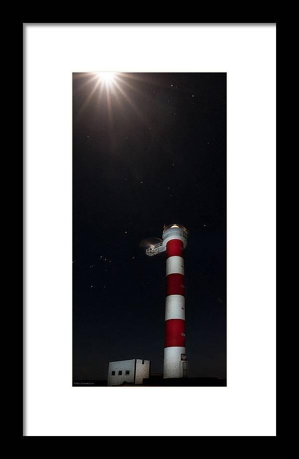 Atlantik Framed Print featuring the photograph Waiting For Dawn by Raico Rosenberg