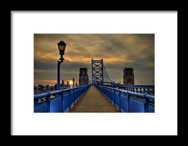 America Framed Print featuring the photograph Walk With Me by Evelina Kremsdorf