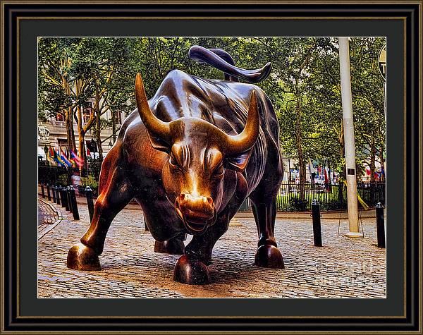 Wall Street Bull by David Smith
