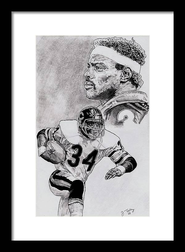 Walter Payton by Jonathan Tooley