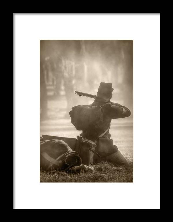 Civil War Framed Print featuring the photograph War by Nikolyn McDonald