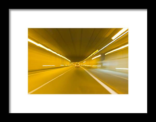 Aggressive Framed Print featuring the photograph Warp 5 by Stephan Stockinger