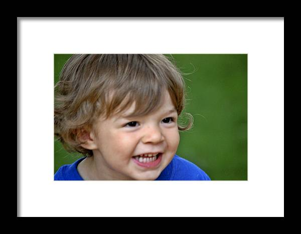 Family Framed Print featuring the photograph Warren by Scott Staley